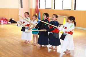 学校法人東村山町田学園 久米川幼稚園 課外教室 剣道教室
